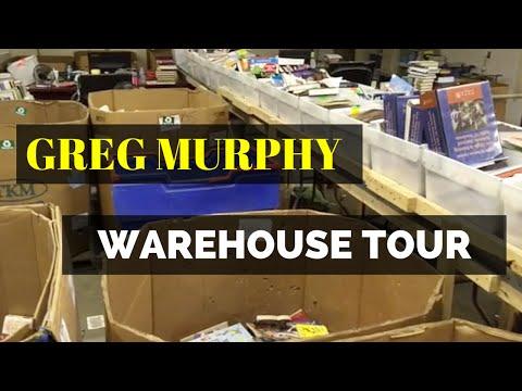 Greg Murphys Million Dollar Book Selling Operation [Full Walk Through - 60,000 Sq. Feet ]