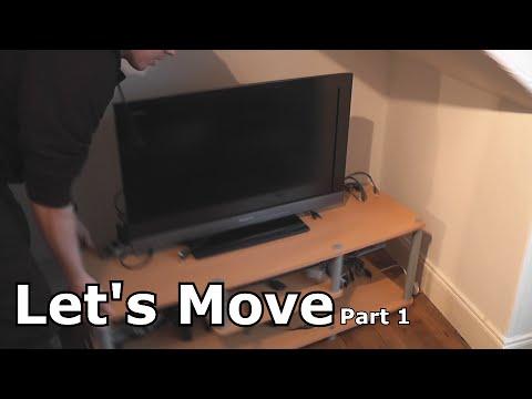 Moving House - Gaming Setup - Teardown for Transit - Part 1
