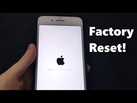 Factory Reset any iPhone 2019 (iOS 12)
