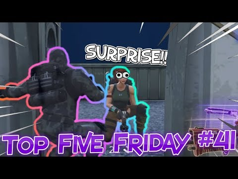 Top Five Friday #41 (FUNNY MOMENTS/WINS) Fortnite