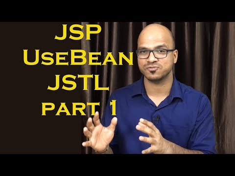 JSP UseBean for Object Creation Example in MVC part 1 JSP Standard Tag Library JSTL