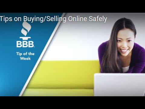 Tips on Buying/Selling Online Safely
