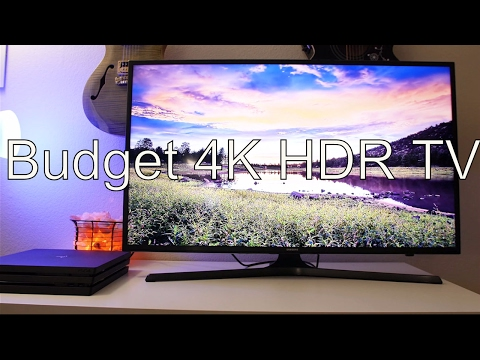 Best Budget 4K HDR TV For The PS4 Pro | Buyer's Guide 2017