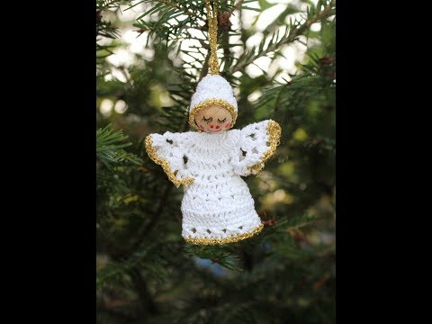 Crochet a Little Angel - Christmas Tree Ornament - Part 1 of 2