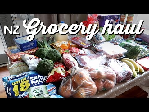 New Zealand Grocery Haul | A Thousand Words