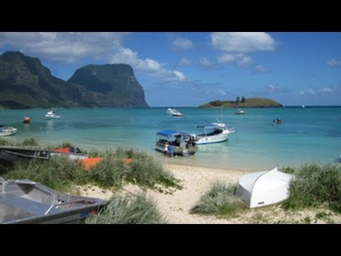 Australia:  Lord Howe Island:  Paradise Revisited