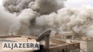 Dozens killed in explosion in Syria