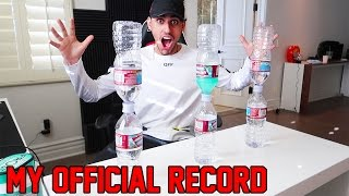 MY OFFICIAL WATER BOTTLE FLIP RECORD