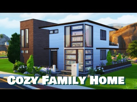 Sims 4 | House Building | Cozy Family Home