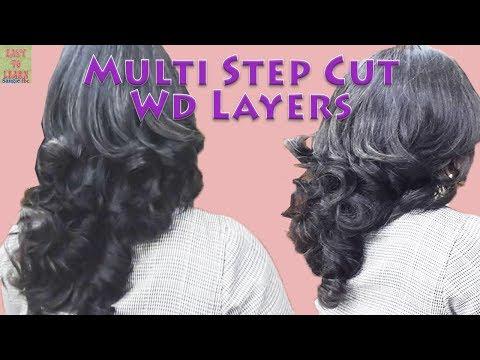 HairCut-Multi Steps With Layers-यदि आपको HairCut का Confidence नही है तो इस Video को जरुर देखे
