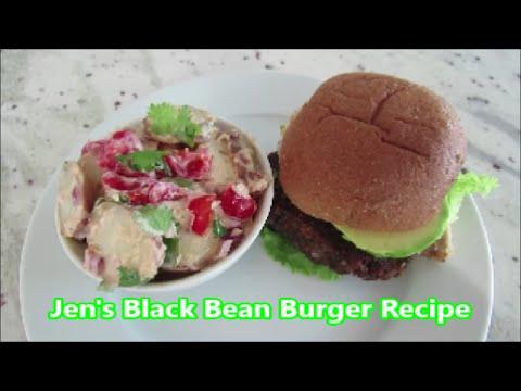 Jen's Black Bean Burger Recipe | Vegan