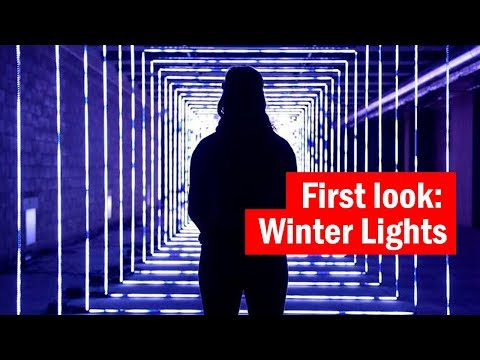 Winter Lights Festival in Canary Wharf | First look | Time Out London