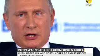 North Korea must not be backed into a corner: Russian President Putin