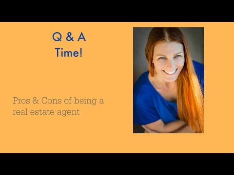Pros and Cons of being a real estate agent