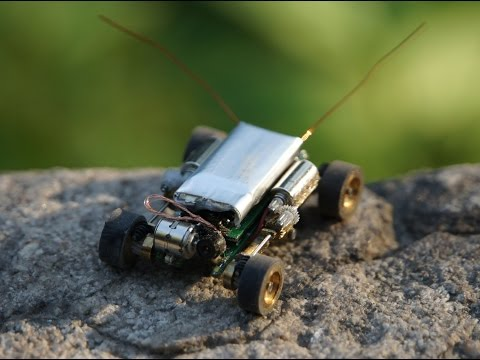 Smallest rc car with camera / Микро машинка с камерой