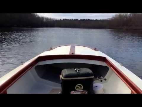 WagoOne 16' boat build: test run on the Concord River