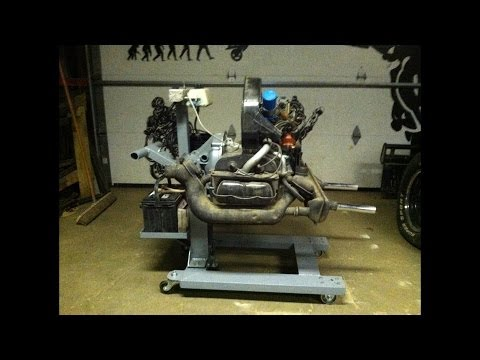 Building A Volkswagen Engine Stand. (Start-Up-Stand)