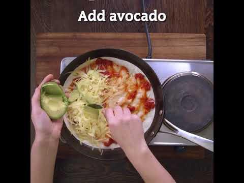 Quesadillas with Ballymaloe Jalapeno Pepper Relish