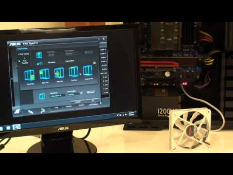 ASUS Fan Xpert 2 hands-on shows how to do PC cooling fan control right