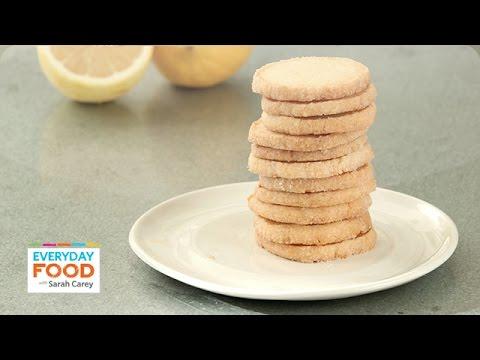 Lemon Ice Box Cookies - Everyday Food with Sarah Carey