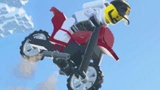 FLYING MOTORCYCLE GLITCH - Lego Worlds - Part 19 | Pungence