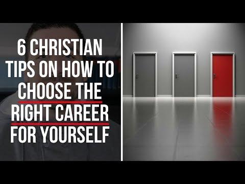 Christian Advice on How to Choose a Career (6 Tips)