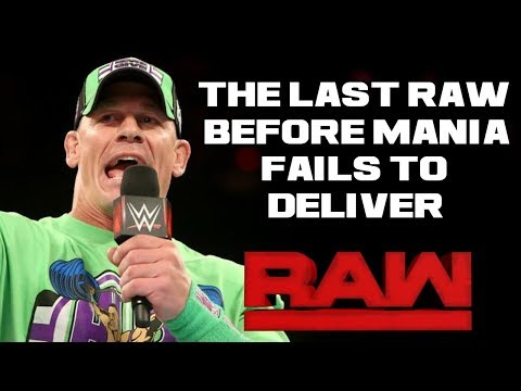 WWE Raw 4/2/18 Full Show Review & Results: WRESTLEMANIA 34 GO HOME SHOW FAILS TO DELIVER