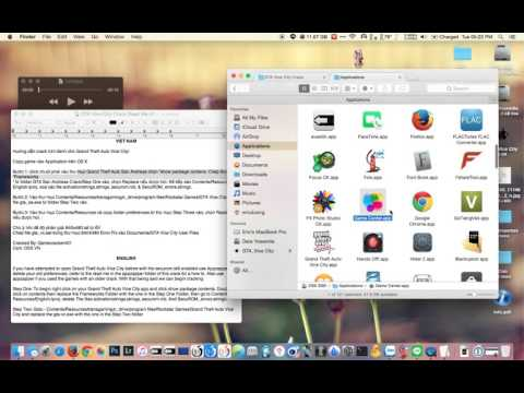 Huớng dẫn cài GTA Vice City trên OS X