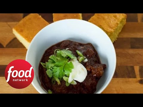 Texas-Style Chocolate Stout Chili | Food Network