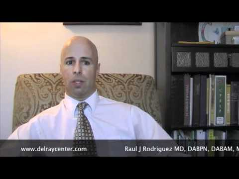 How to see the Problem with Alcohol as a drug with Dr Rodriquez and Delray Center