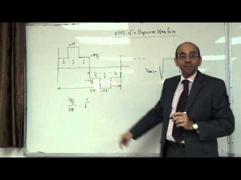 Calculating the RMS of a stepwave waveform III (example 2), 23/10/2014