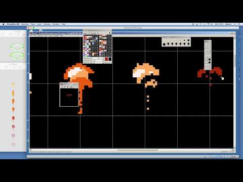 How to pixel art animation characters effects design for games