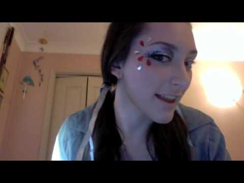 Dorothy Makeup Masquerade