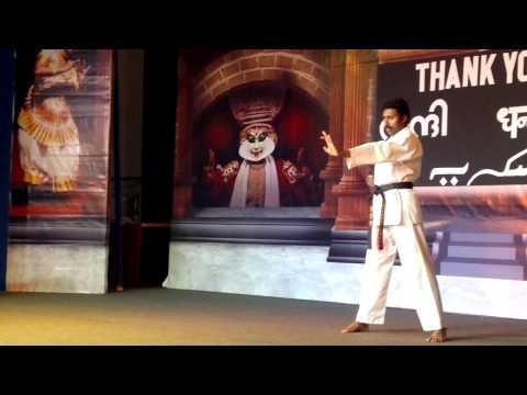 Millennium Friends-Sunil Kumar At his best karate katas