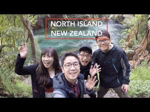 North Island - New Zealand Road Trip - Travel Adventure 2017 - (GoPro Hero 5)