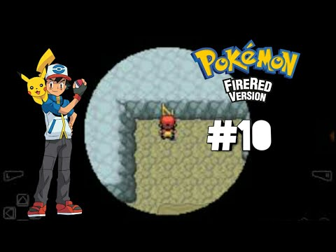 Walk through the Rock Tunnel from the Cerulean City to Lavender town -POKEMON FIRE RED#10
