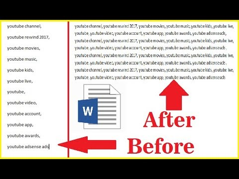 How to Remove All Line Breaks [Enter Space] at Once in Word