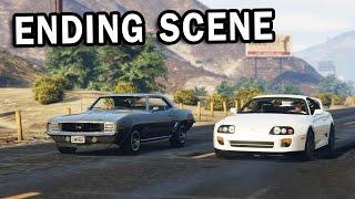 GTA V - Fast and Furious 7 Ending Scene [For Paul]