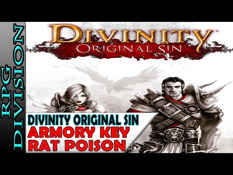 Divinity: Original Sin - Armoury Key & Rat Poison (Hunter's Edge) Walkthrough