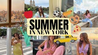 SUMMER IN NEW YORK CITY!   Emma Rose