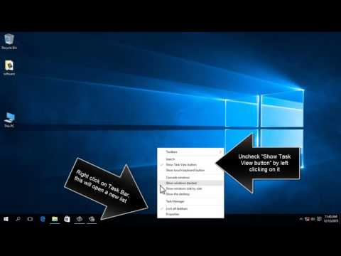 How To Remove Task View Button From Windows 10