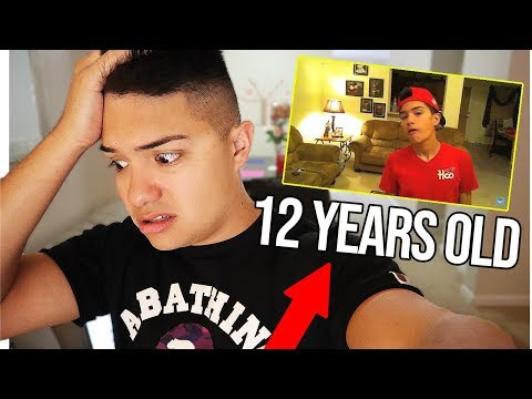 REACTING TO MY FIRST VIDEOS (8 YEARS AGO)