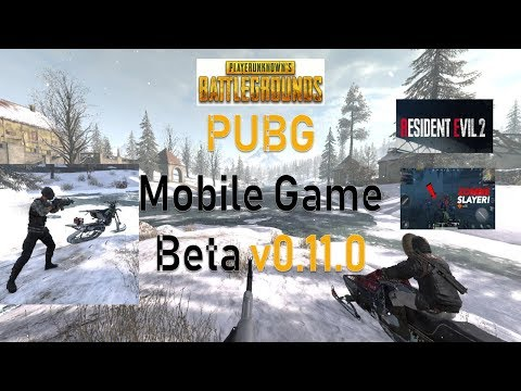 How to Download PUBG Mobile Game Beta v0.11.0 with Bosses and Sunset Zombies from Resident Evil 2