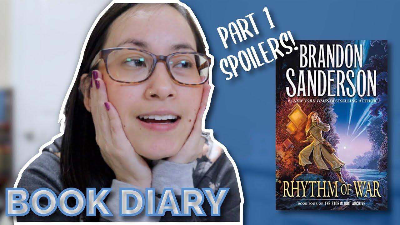 Rhythm of War Part 1 Reading Vlog Book Diary