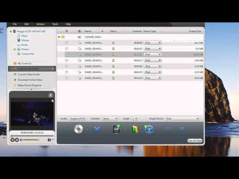 How to Transfer DVD Movies and Videos to iPad and iTunes with iPad Mate