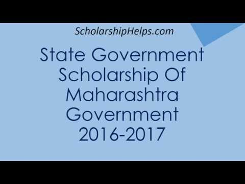 How to apply for State Government of Maharashtra Scholarship - Step by step tutorial