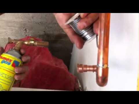 Como soldar tubería de cobre fácilmente