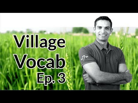 EP 3. Spoken English free Training with Village English vocabulary tips by M. Akmal | The Skill Sets