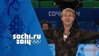 Evgeny Plyushchenko Wows His Home Crowd - Figure Skating Team Event | Sochi 2014 Winter Olympics