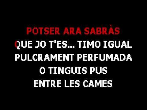 Albert Plà - La Sequía (Ho Sento Molt) - Karaoke - Versió Instrumental